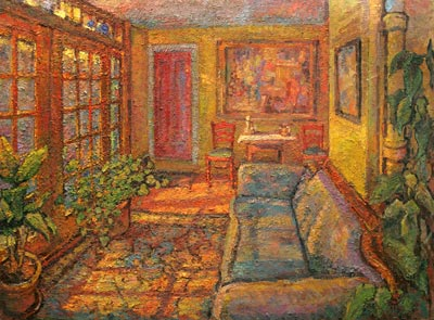 CAT# 3011  The Sun Room  oil	40 x 54