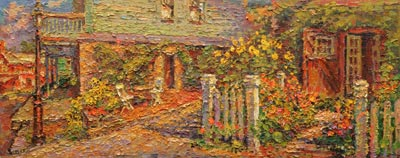 CAT# 3024  Studio Garden  oil	12 x 30